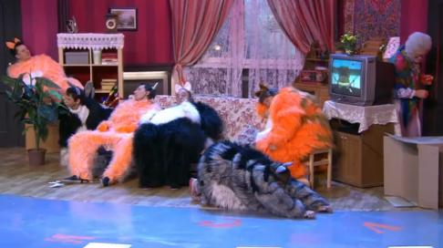 Уральские пельмени бабки и коты